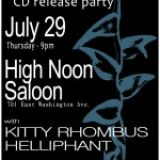 Orphan Bloom CD Release Party @ High Noon 7/29/10