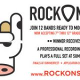 ROCKONSIN Competition for Youth Garage Bands Making Summerfest Debut;  Deadline to Get in is April 30